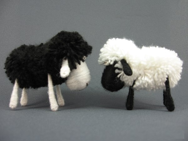 создание овечки