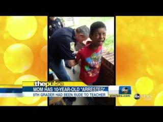 В США мама вызвала полицейских, чтобы те арестовали её 10-летнего сына