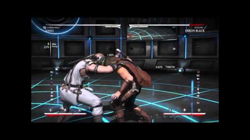 MKX Commando Kano NJP Punishes