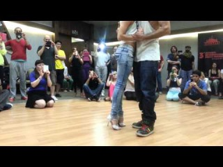 Nuno y Vanda Kizomba workshop Istanbul International Dance festival 2014