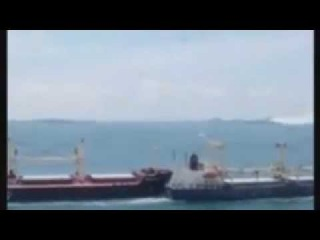 Collision at sea (Морские аварии)