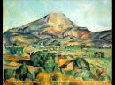 France Gall-Cézanne peint