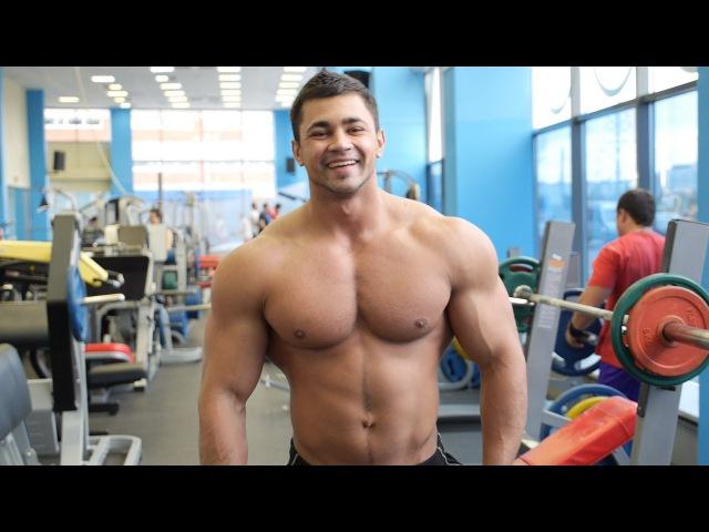 Тренируем грудные мышцы с Димой Ивановым Буду Первым