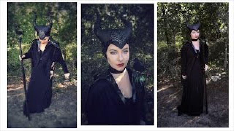 Maleficent Cheap DIY Costume Tutorial | Halloween