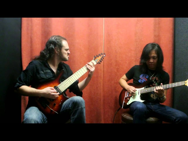 Alex Hutchings Jack Thammarat 8 String Full length Jam