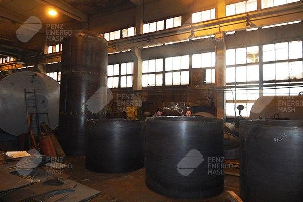 Производство ресиверов водорода