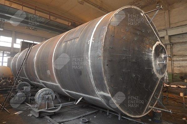 Производство резервуаров горизонтальных стальных
