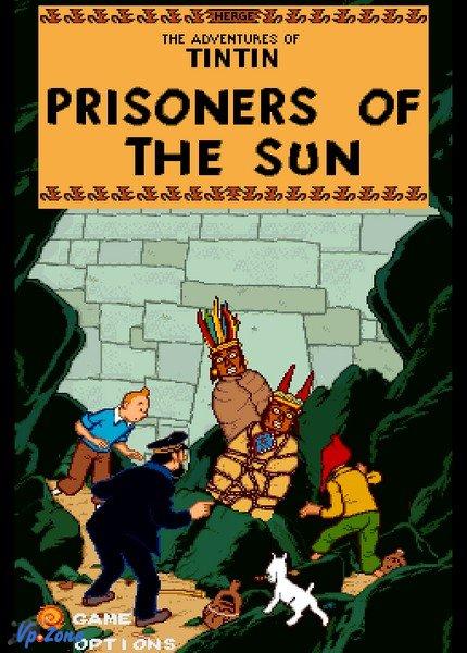 Постер к фильму Приключения Тинтина: Узники Солнца