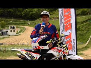 CHAMPIONNAT DE FRANCE PIT BIKE 2015 Test Piste Tarare (69)