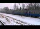 Электропоезд ЭР9Т-670 рейсом 6306 Чернигов - Нежин