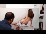 painting-rekouane-oil-painting a nude-oil http://www.rekouane-art.com/