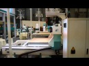 Automatic Tool Changer With HSD 9.0KW 850W YASKAWA Servo Motor Vacuum Suction CNC Router Machine