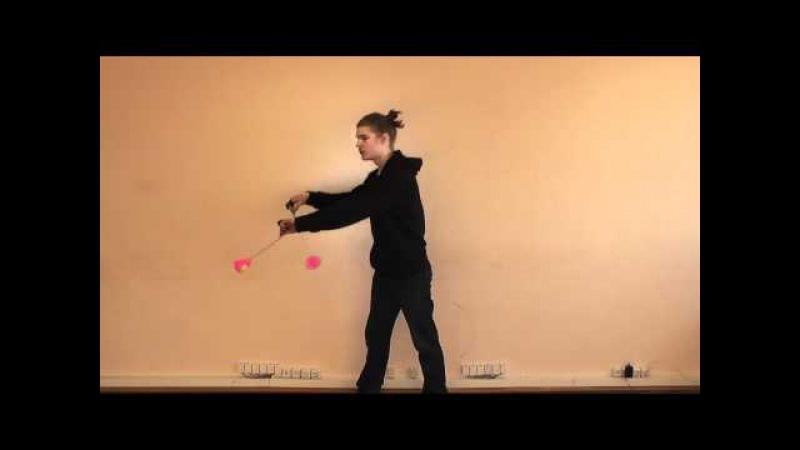 Видео-урок пои №3 Базсо (колесо)
