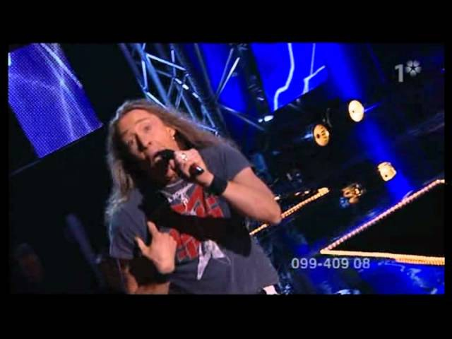 E-TYPE - Paradise (1st Live At Eurovision Precontest Gothenburg 2004)