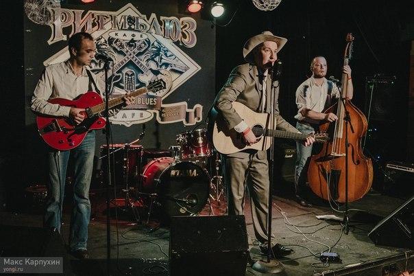 07.08 Mountain Men, Andrew & The Moscow Tunes в Андердог паб!