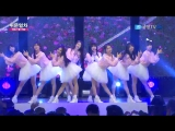 · Perfomance · 151005 · OH MY GIRL - Cupid + Hot Summer Nights · Gukbang TV Army Festival Special Entertaining Train