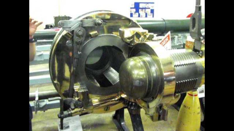 1889 naval gun breech