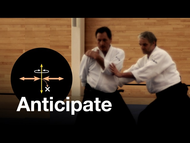 Aikido: Anticipation. Christian Tissier Shihan