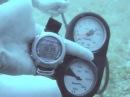 за какое время выходит воздух из баллона при разрыве шланга среднего давления, под водой.