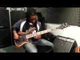 Carvin Guitars checking out some basses and hanging with Walter Jones