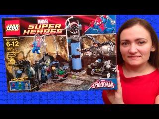 Видео lego marvel super heroes spiderman