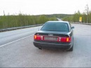 Audi S6 (C4) V8 sound with straight pipes