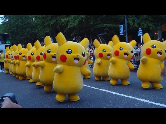 Pokémon Pikachu Dance Parade 2015