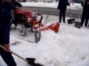 Hóeltakarítás eladó Shibaura SU1341 és Komondor STL 125 tolólap Snow plow blade snow cleaning