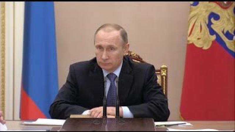 Владимир Путин акимиет иле мушавере кетишатында Къырымдаки энергетик вазиет акъта меселени анъды