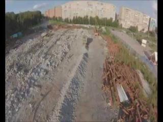 Утилизация строительных отходов. Получение щебня.