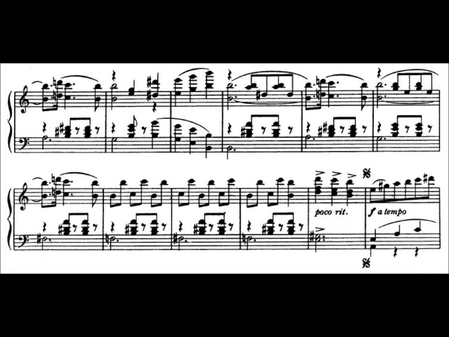 Aram Khachaturian - Waltz, from Masquerade (solo piano version)