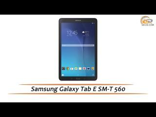 Samsung Galaxy Tab E (SM-T560) - обзор планшета