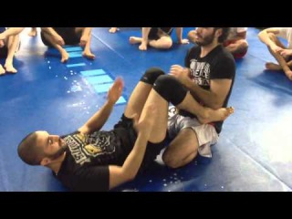 Tristar Gym with Coach Zahabi. How to deal with lay and pray.