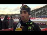 Мартен Фуркад о классическом спринте на этапе Кубка мира по лыжным гонкам в Куусамо