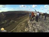 Ира Качи-Кальон Роупджампинг в Крыму с командой Скайлайн