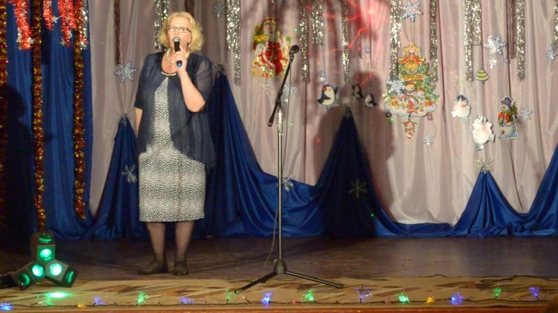 Новогодний концерт. Ирина Сюсюкина. 27.12.15.