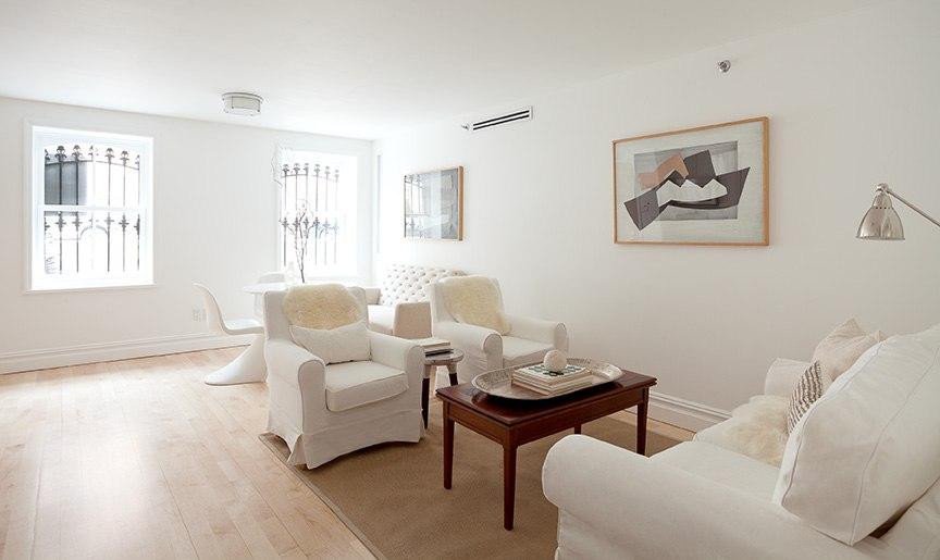 Светлый интерьер квартиры-студии 36 м.