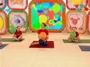 Разминка с шариком Прыг скок команда.