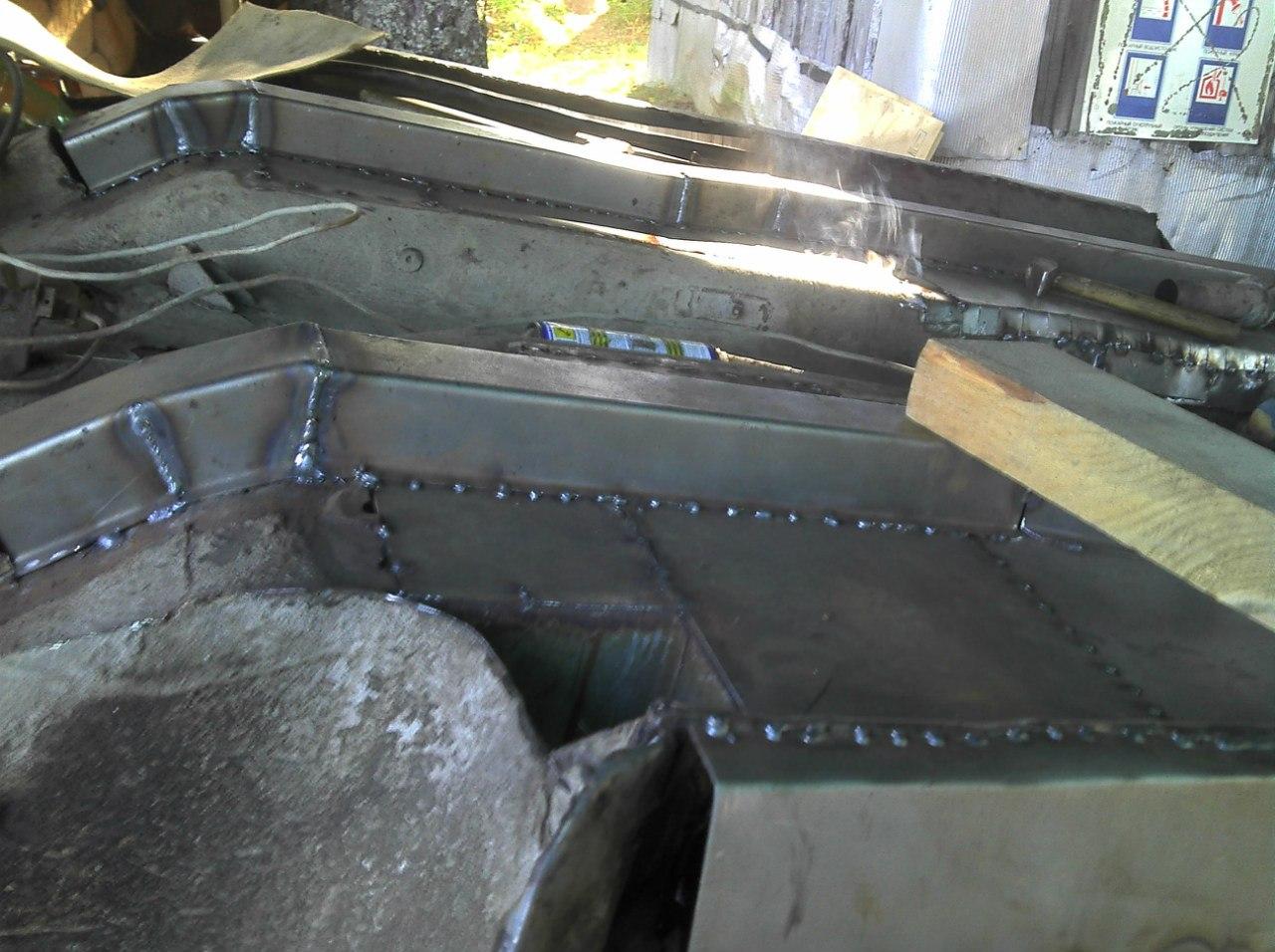 Кузовной ремонт своими руками ваз 2121