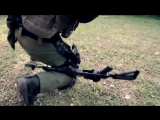 Перезарядка автомата АК одной рукой _ Reloading automatic rifle AK one hand