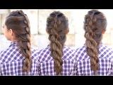 Урок плетения косы Бабл /  + Pull-Thru Mermaid Braid