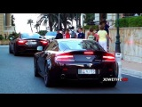 Supercars in Monaco (Part 6) - BRABUS ML, V12 Vantage, MP4-12C and More!