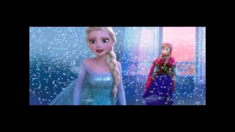 Anna и Эльза - Первый раз за эту вечность   Холодное сердце (AF TV)