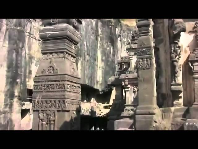 The Rock cut Caves of Maharashtra Ellora and Ajanta India HD 2