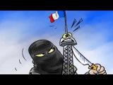 Арабские карикатуры на теракты в Париже   'Арабский ответ' на карикатуры Charlie Hebdo
