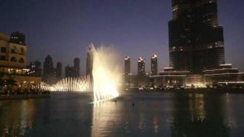Поющие фонтаны- Дубай.mp4 (Уитни Хьюстон)