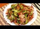Салат из огурца со свиными ушами Популярный рецепт Китайская кухня