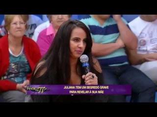 Você na TV: Filha conta que está namorando um vampiro há cinco meses