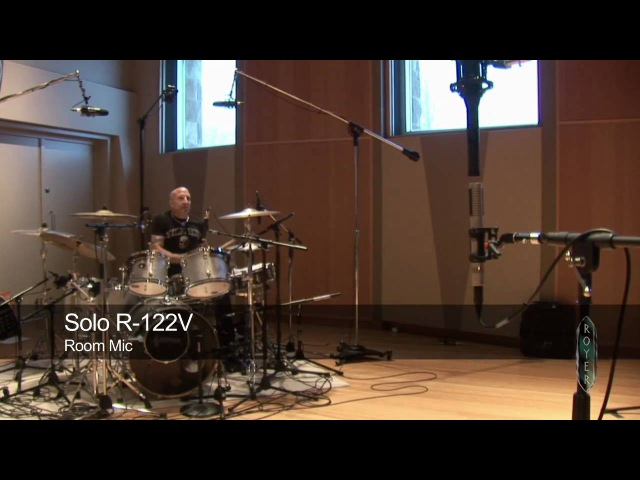 Recording Drums with Royer Ribbons - Ross Hogarth, Kenny Aronoff Lukas Rossi