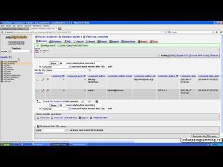 Работа с базой данных MySQL в C#